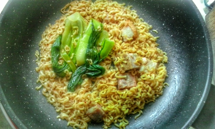 Leftovers turned to Special Pancit Canton